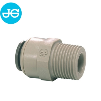 John Guest Einschraubverbinder PI011203S - Ø 9,50 mm x 3/8