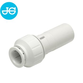 John Guest Einsteck-Reduzier-Verbinder PEM061510W - Ø 15 mm x 10 mm